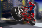 Ultimate SpiderMan - Situational Art Wall Decal