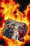Uncanny X-Men No. 20: Cyclops, Frost, Emma, Magneto, Storm, Magik, Colossus- Plastic Sign