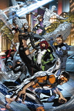 All-New X-Men No. 19: Grey, Jean, Beast, Cyclops, Iceman, Angel, Magik, Pryde, Kitty Plastic Sign
