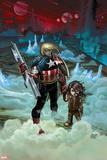 Captain America No. 2: Captain America Plastic Sign