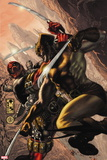 Wolverine: Origins No. 21: Wolverine, Deadpool Plastic Sign
