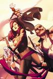 Uncanny X-Force No. 2: Psylocke, Storm, Spiral, Puck, Cluster Plastic Sign