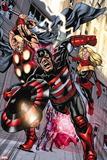 Dark Avengers No. 190: U.S. Agent, Moonstone, Trickshot, Toxic Doxie, Ragnarok Plastic Sign