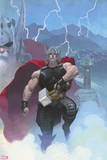 Thor: God of Thunder No. 1: Thor Signe en plastique rigide
