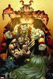 X-Infernus No. 4: Wolverine, Colossus, Witchfire Plastic Sign