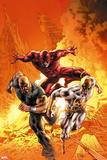 New Avengers No. 30: Iron Fist, Daredevil, Cage, Luke Plastikschilder