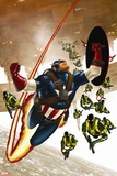 Captain America No. 18: Captain America Plastic Sign
