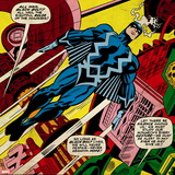 Marvel Comics Retro Style Guide: Black Bolt Wall Decal