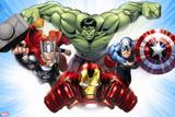 Avengers Assemble - Situational Art Wandtattoo