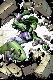 She-Hulk No. 1: She-Hulk Plastic Sign