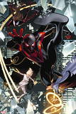 Ultimate Comics Spider-Man No. 28: Spider-Man, Spider Woman, Cloak, Dagger, Bombshell Wall Decal