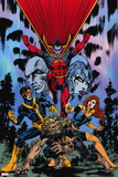 X-Men Forever Giant-Size No. 1: Gladiator, Cyclops, Grey, Jean, Sabretooth Wall Decal