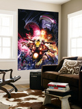 Avengers vs. X-Men No. 12: Iron Man, Summers, Hope, Scarlet Witch Wall Mural