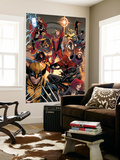 Avengers No. 17: Thor, Captain Marvel, Spider Woman, Wolverine, Spider-Man, Captain Marvel Wall Mural