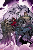 X-Men: Battle of the Atom No. 1: Pryde, Kitty, Xavier, Beast, Deadpool, Iceman, Hayes, Molly Plastic Sign