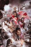 Uncanny X-Men No. 525: Namor, Psylocke, Cyclops, Frost, Emma, Iceman, Armor Wall Decal