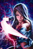 X-Men: Sword of the Braddocks No. 1: Psylocke Plastic Sign