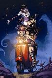 X-Men: Pixie Strikes Back No. 2: Pixie, Mercury, X-23, Armor Wall Decal