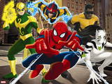 Ultimate SpiderMan - 2014 Team Heroes - Situational Art Wall Decal
