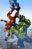 Avengers Assemble No. 11: Iron Man, Hulk Wall Sign