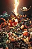 Generation Hope No. 13: Colossus, Psylocke, Magneto, Storm, Zero, Primal, Transonic, Velocidad Wall Decal
