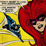Marvel Comics Retro Style Guide: Black Bolt, Medusa Wall Decal