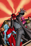 Uncanny Avengers No. 2: Red Skull, Goat-Faced Girl, Honest John, Mzee, The Insect, Tsar Sultan Wall Sign