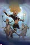 Thor: God of Thunder No. 22: Wodendottir, Frigg, Wodendottir, Ellisiv, Wodendottir, Atli Plastic Sign