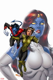 X-Men Forever No. 17: Rogue, Nightcrawler, Mystique Wall Decal