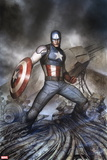 Captain America: Living Legend No. 4: Captain America Plastic Sign