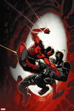 Scarlet Spider No. 10: Scarlet Spider, Venom Wall Sign