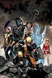 All-New X-Men No. 2: Wolverine, Storm, Beast, Iceman, Pryde, Kitty Plastic Sign