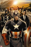 New Avengers No. 1: Captain America, Stark, Tony, Black bolt, Mr. Fantastic, Namor, Dr. Strange Plastic Sign