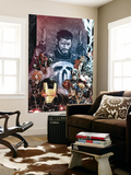 Punisher: War Zone No. 2: Punisher, Iron Man, Wolverine, Captain America, Black Widow, Spider-Man Wall Mural