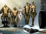 Astonishing X-Men: Xenogenesis No. 1: Beast, Armor, Wolverine, Frost, Emma, Cyclops, Storm Wall Decal