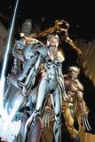 X-Infernus No. 4: Magik, Colossus, Wolverine, Rockslide Plastic Sign