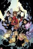 X-Men No. 10: Storm, St. Croix, Monet, Psylocke, Grey, Rachel, Shogo, Omega Sentinel Plastic Sign
