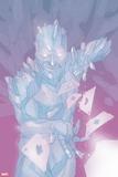 Astonishing X-Men No. 56: Iceman Plastic Sign