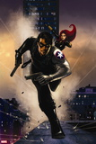 Winter Soldier No. 13: Winter Soldier, Black Widow Wall Decal