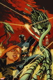 Captain America and Black Widow No. 638: Captain America, Black Widow Wall Decal