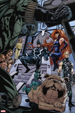 X-Men: Kingbreaker No. 4: Black Bolt, Medusa, Karnak, Lockjaw Plastic Sign