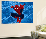 Ultimate SpiderMan - Sinister Art - Situational Art Wall Mural