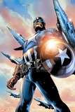 Avengers Assemble Style Guide: Captain America Plastic Sign