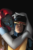 All-New X-Men No. 7: Cyclops, Mystique Plastic Sign