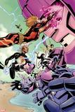 X-Men No. 12: Storm, Sentinel, Psylocke, Jubilee, St. Croix, Monet Plastic Sign