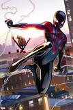 Ultimate Spider-Man Style Guide: Ultimate Spider-Man Morales, Spider Woman Plastic Sign