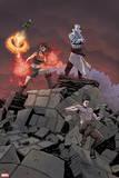 Infinity: The Hunt No. 2: Morg, Pan, Demona, Female Doombot Wall Decal