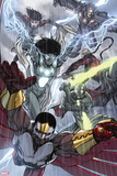 Avengers World No. 7: Falcon Plastic Sign