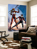 Ultimate Comics Spider-Man No. 17: Spider-Man, Spider Woman Wall Mural