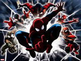 Ultimate SpiderMan - Web Warriors Situational Art Wall Decal